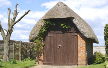 Thatched Garage Roof Repair